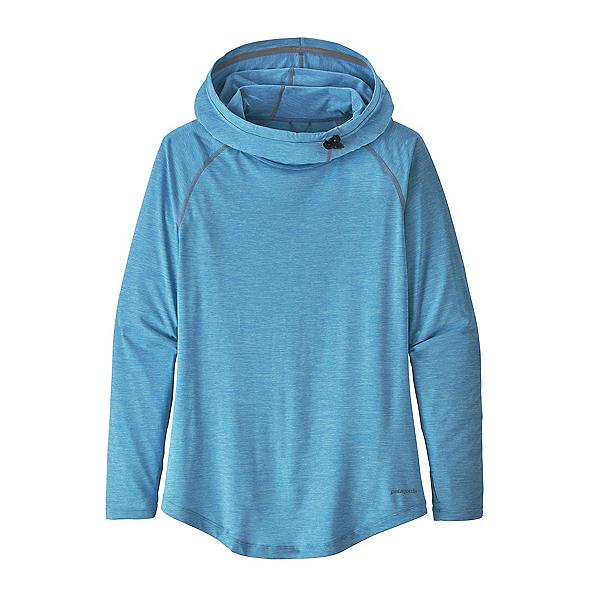 Patagonia Tropic Comfort Womens Hoodie, Fin Blue X Dye, 600