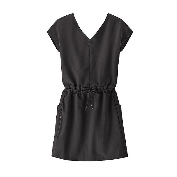 Patagonia Organic Cotton Roaming Dress, Black, 600