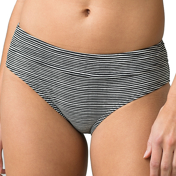 Prana Ramba Bathing Suit Bottoms, Black Wabi Stripe, 600