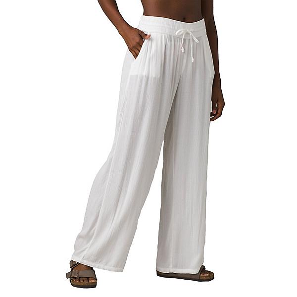 Prana Fernie Beach Womens Pants, White, 600