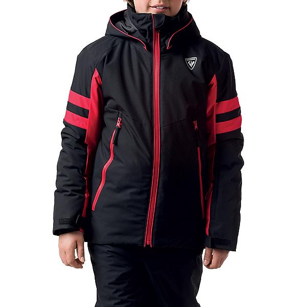 Rossignol Boys Ski Jacket, Black, 600