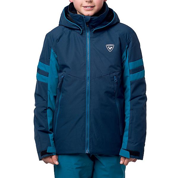 Rossignol Boys Ski Jacket, Dark Navy, 600