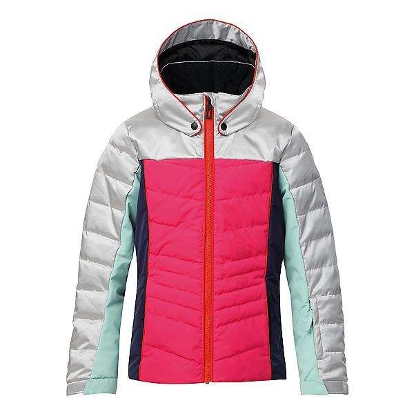 Rossignol Polydown Silver Girls Ski Jacket, , 600