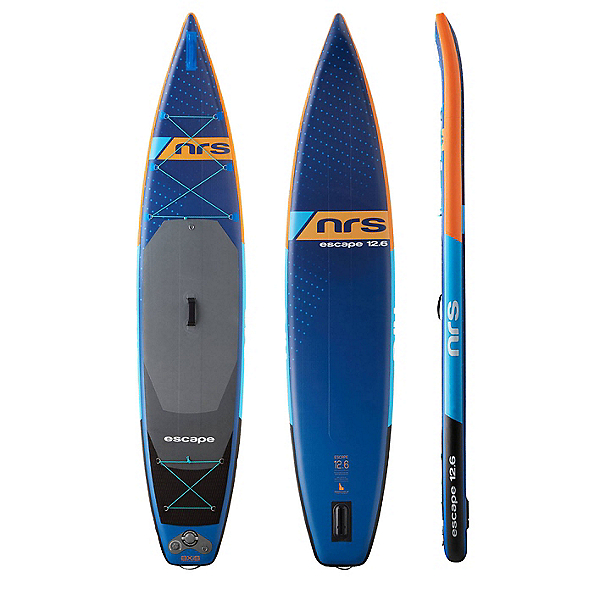 NRS Escape 12ft6in Inflatable Stand Up Paddleboard, , 600