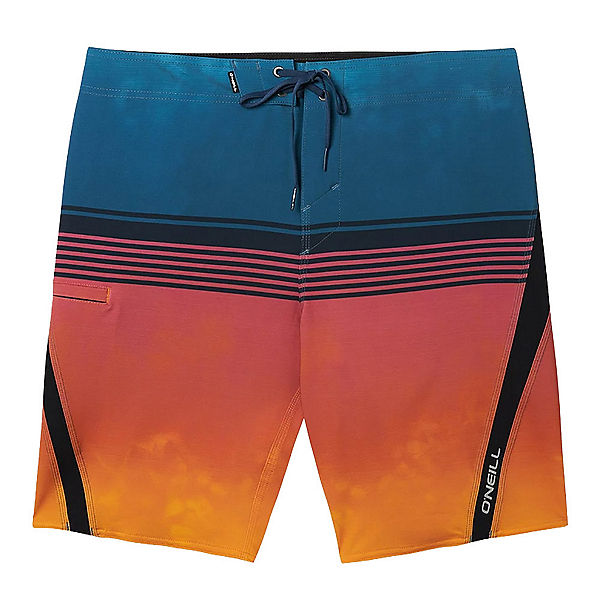 O'Neill Superfreak Flow Mens Board Shorts, Coral, 600