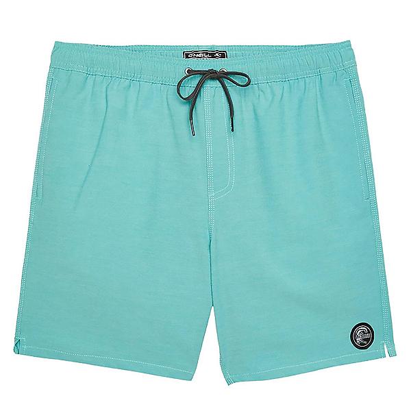 O'Neill Solid Volley Mens Board Shorts, Aqua, 600