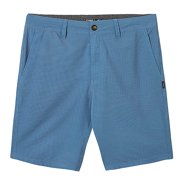 O'Neill Stockton Print Mens Hybrid Shorts, Dust Blue, 600