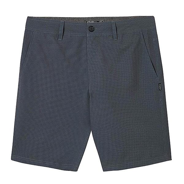 O'Neill Stockton Print Mens Hybrid Shorts, Black, 600