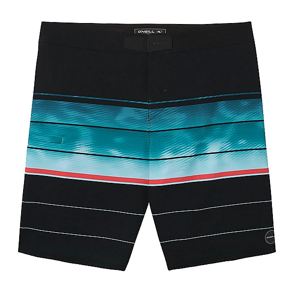 O'Neill Hyperfreak Hydro Wanderer Mens Board Shorts, Black, 600