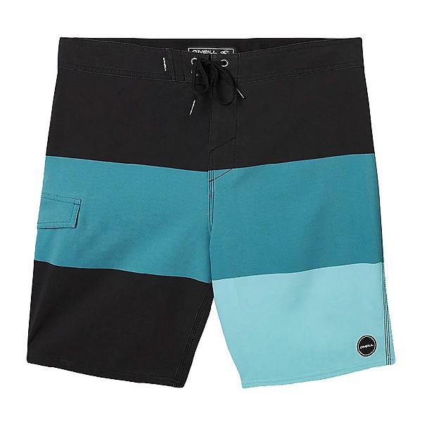 O'Neill Hyperfreak Blockade Mens Board Shorts, Ocean, 600