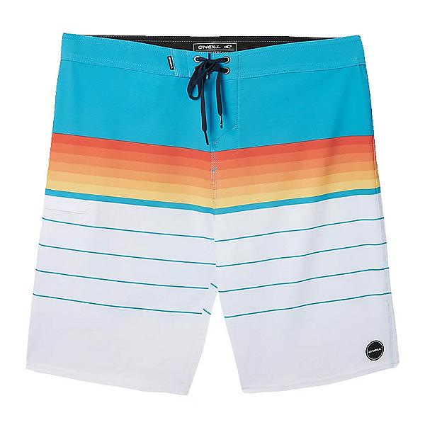 O'Neill Hyperfreak Heist Mens Board Shorts, Bright Blue, 600
