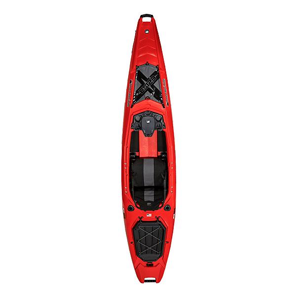 Bonafide Kayaks EX123 Sit On Top Kayak, Redline, 600