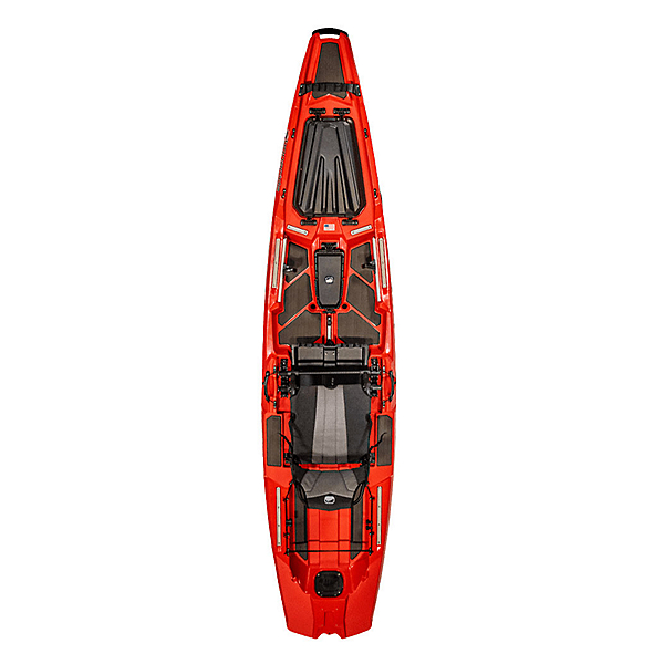 Bonafide Kayaks SS127 Kayak, Redline, 600