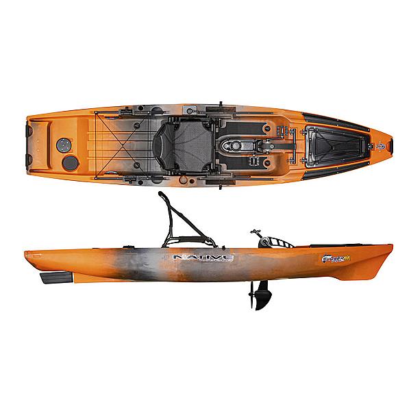 Native Watercraft Slayer Propel 12.5 MAX Kayak, Copperhead, 600