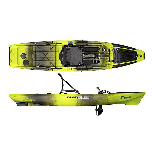 Native Watercraft Slayer Propel 12.5 MAX Kayak, Gator Green, 600