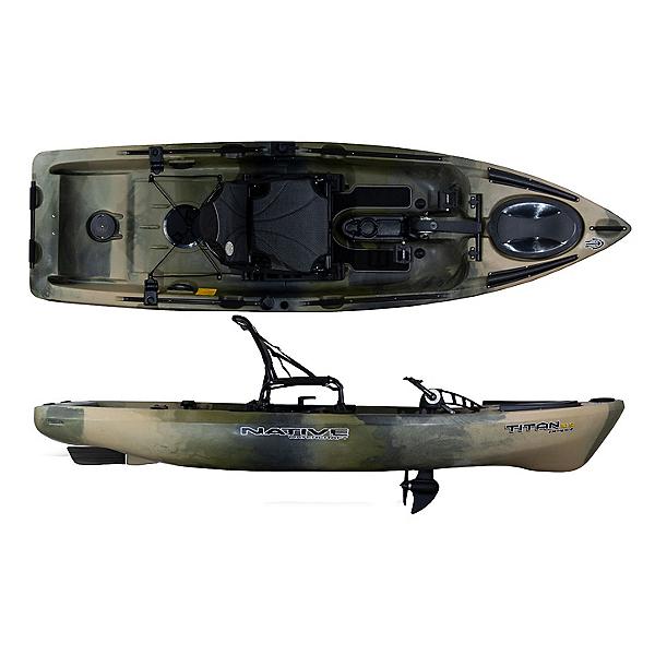 Native Watercraft Titan propel 10.5 Kayak, Hidden Oak, 600
