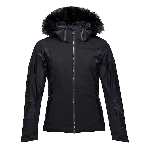 Rossignol Aile Womens Insulated Ski Jacket 2020, Black, 600