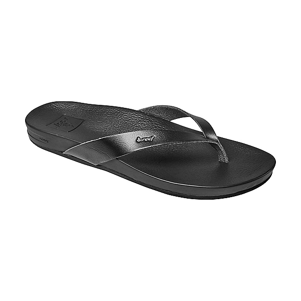 Reef Cushion Court Womens Flip Flops, Black, 600