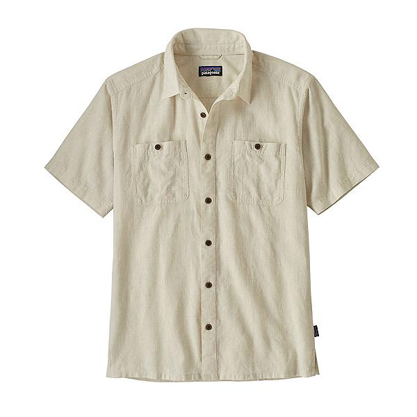 Patagonia Back Step Mens Shirt, Pumice, 600