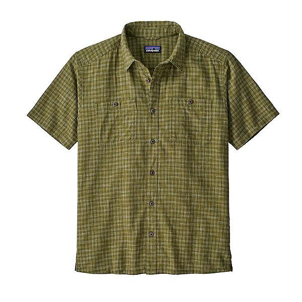 Patagonia Back Step Mens Shirt, Palo Green, 600