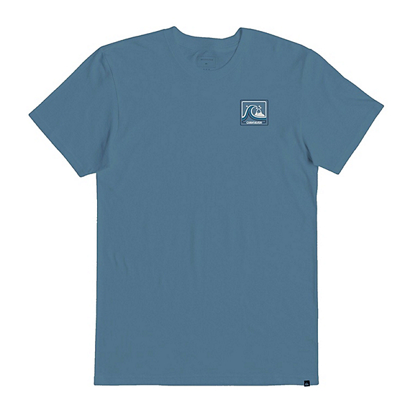 Quiksilver Highway Vagabond Mens T-Shirt, Blue Heaven, 600