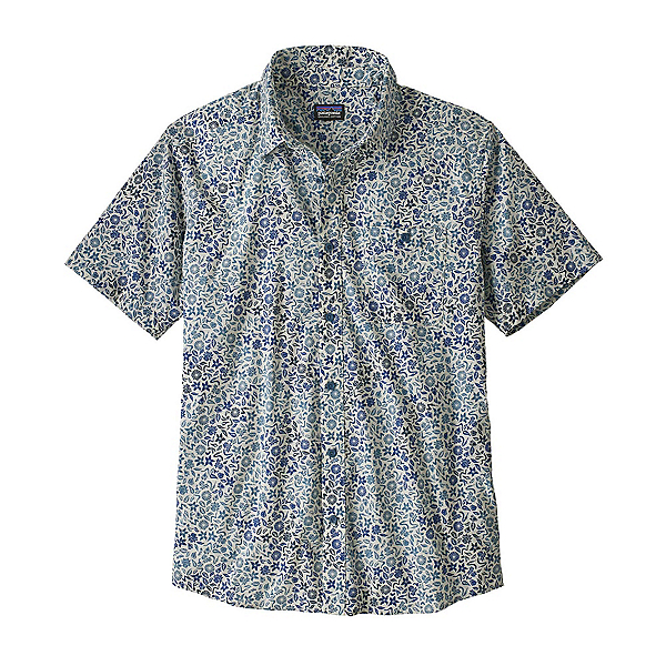 Patagonia Go To Mens Shirt, Cover Crop Ombre Pigeon Blue, 600