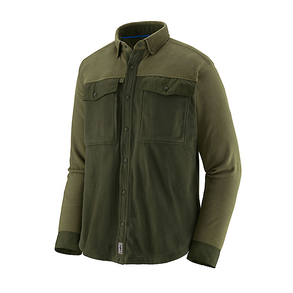 Patagonia Early Rise Snap Long Sleeve Mens Shirt, Kelp Forest, 600