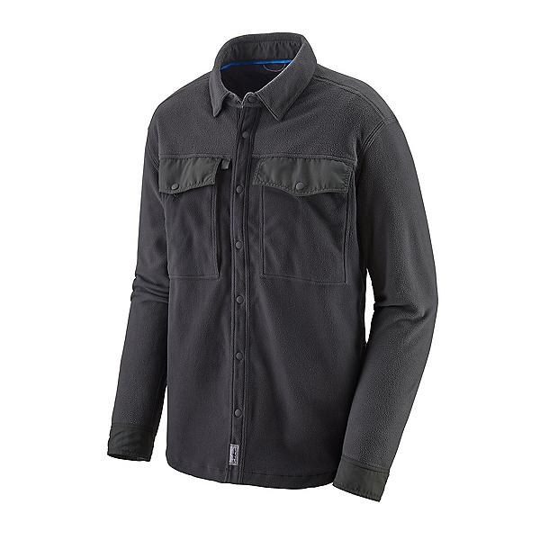 Patagonia Early Rise Snap Long Sleeve Mens Shirt, Ink Black, 600