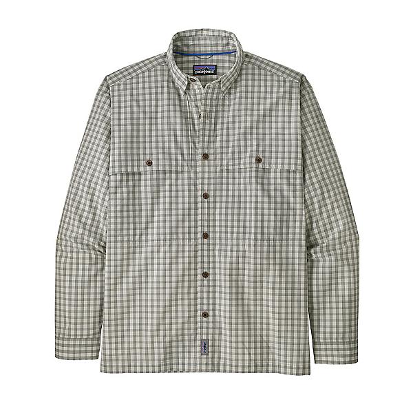 Patagonia Island Hopper Long Sleeve Mens Shirt, Dyno White, 600