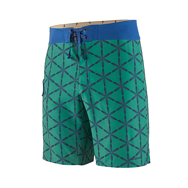 Patagonia Stretch Planing Mens Board Shorts, Eelgrass Green, 600