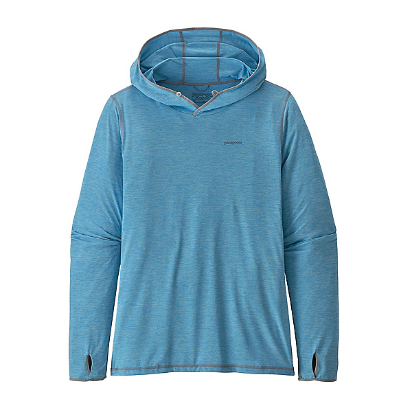 Patagonia Tropic Comfort II Mens Hoodie, Lago Blue-Fin Blue X Dye, 600