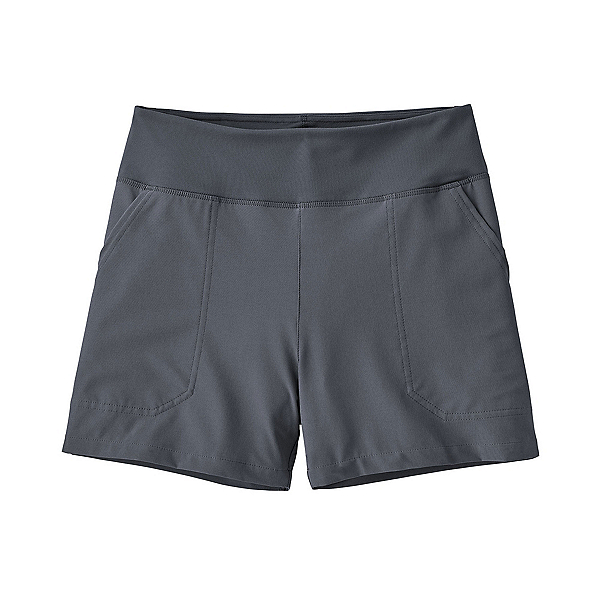 Patagonia Happy Hike 4in Womens Shorts, Smolder Blue, 600
