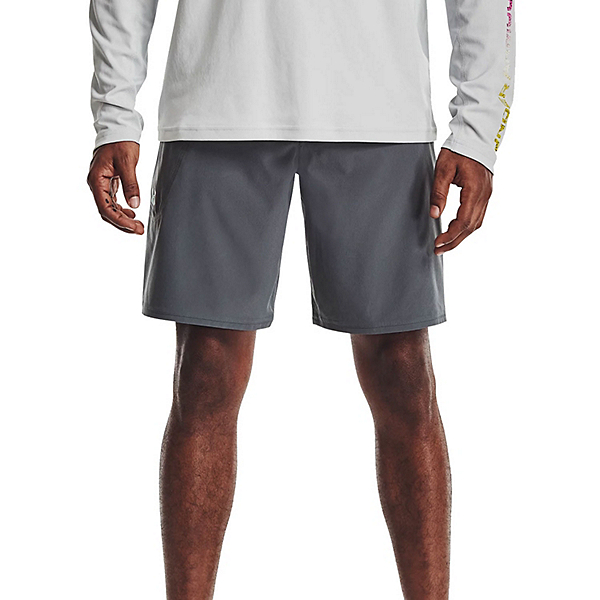 Under Armour Tide Chaser Mens Board Shorts, Pitch Gray, 600
