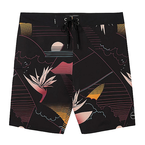 O'Neill Hyperfreak Waka Mens Board Shorts, , 600
