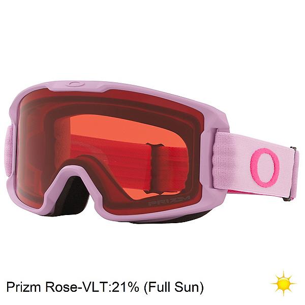 Oakley Line Miner S Kids Goggles, Lavernder Rubine-Prizm Rose, 600
