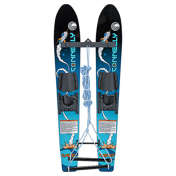 Connelly Cadet Junior Combo Water Skis With Child Slide Adjustable Bindings, , 600