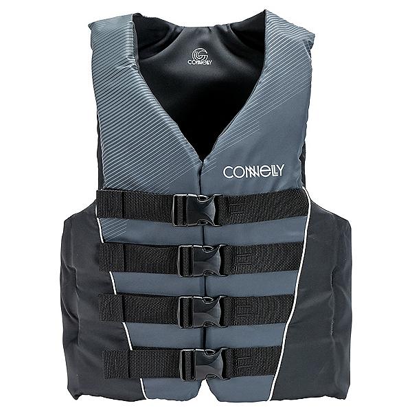 Connelly 4 Belt Nylon Adult Life Vest, Black, 600
