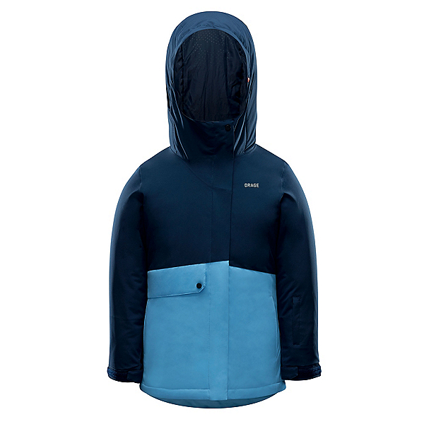 Orage Lola Girls Ski Jacket 2020, Deep Navy, 600