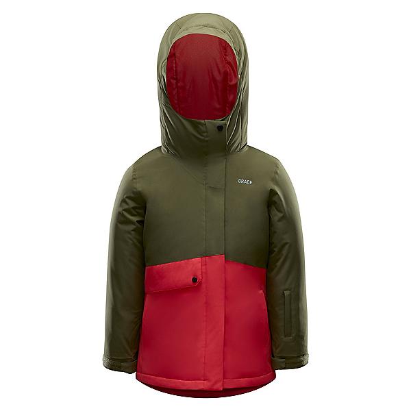 Orage Lola Girls Ski Jacket 2020, Olive, 600