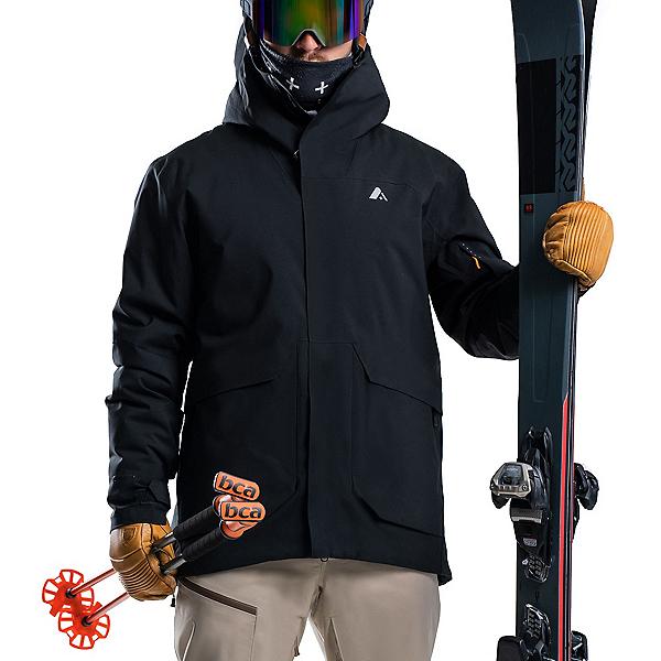 Orage Cypress Mens Insulated Ski Jacket, Black, 600
