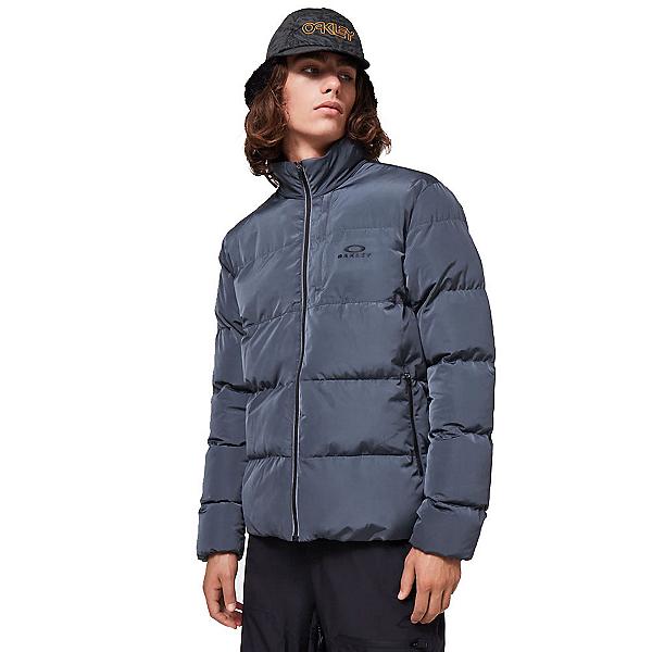 Oakley Latitude Full Zip Puffer Mens Jacket 2020, Uniform Grey, 600