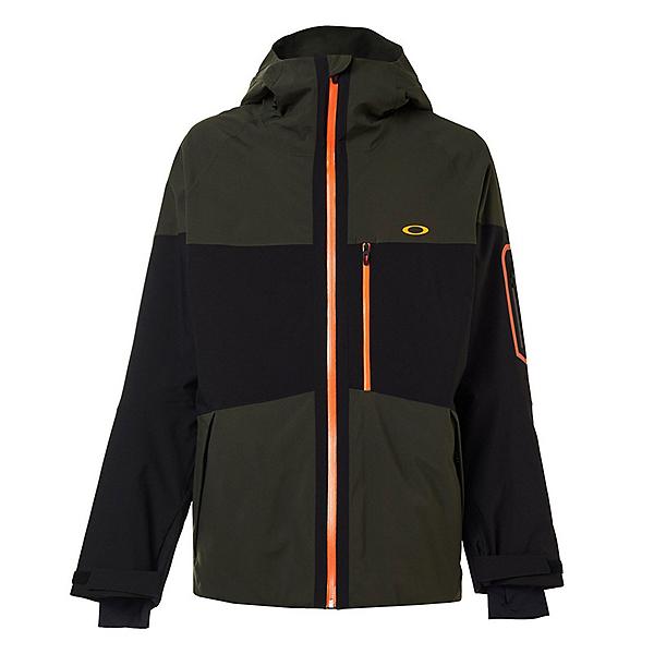 Oakley Cedar Ridge 3.0 BZI Mens Insulated Ski Jacket 2020, Black Green, 600