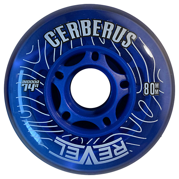 Alkali Revel Cerberus 80mm/74A Inline Hockey Skate Wheels, , 600