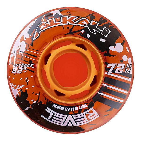 Alkali Revel 72mm/82A Inline Hockey Skate Wheels, , 600