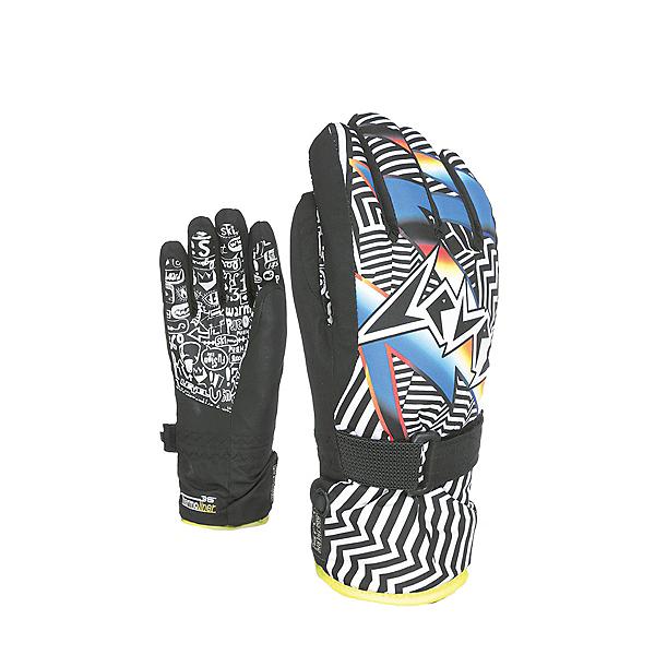 Level Junior Kids Gloves 2020, Ninja Black, 600