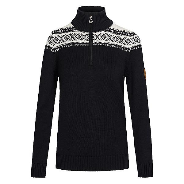 Dale Of Norway Cortina Merino Feminine Womens Sweater, Black-Offwhite, 600