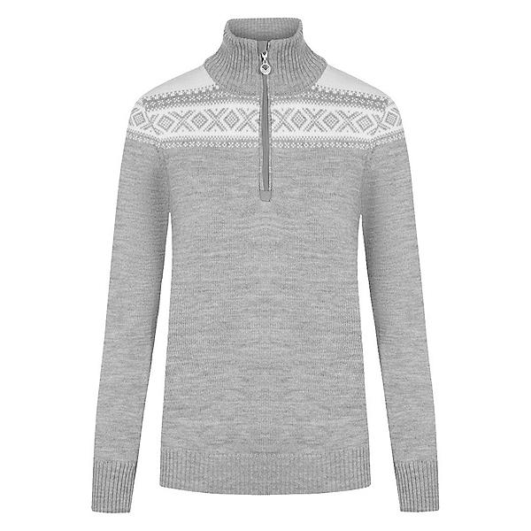 Dale Of Norway Cortina Merino Feminine Womens Sweater, Light Charcoal-Offwhite, 600