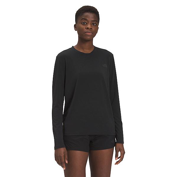 The North Face Wander Longsleeve Womens Long Underwear Top 2022, TNF Black, 600
