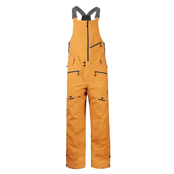 Picture Zephir Bib Mens Ski Pants 2022, Camel, 600