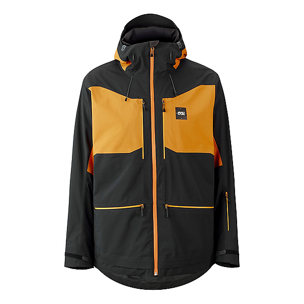Picture Naikoon Mens Insulated Ski Jacket 2022, Black, 600